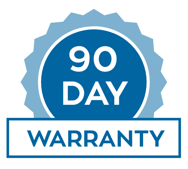 90 day tail warranty icon